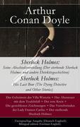 eBook:  Sherlock Holmes: Seine Abschiedsvorstellung (Der sterbende Sherlock Holmes und andere Detektivgeschichten / Sherlock Holmes: His