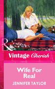 eBook: Wife For Real (Mills & Boon Vintage Cherish)
