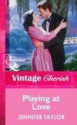eBook: Playing at Love (Mills & Boon Vintage Cherish)