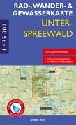 Unterspreewald 1 : 35 000. Rad-, Wander- und Ge...