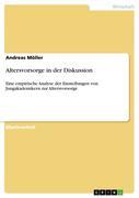 Möller, Andreas: Altersvorsorge in der Diskussion