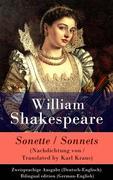 eBook: Sonette (Nachdichtung von / Translated by Karl Kraus) / Sonnets - Zweisprachige Ausgabe (Deutsch-Englisch) / Bilingual edition