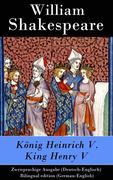 eBook: König Heinrich V. / King Henry V - Zweisprachige Ausgabe