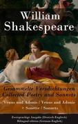 eBook: Gesammelte Versdichtungen / Collected Poetry and Sonnets - Zweisprachige Ausgabe (Deutsch-Englisch) / Bilingual edition (German