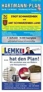 HARTMANN-PLAN Schwarzenbek mit Schwarzenbek-Lan...
