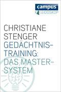 eBook:  Gedächtnistraining: Das Master-System