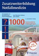 eBook: Zusatzweiterbildung Notfallmedizin