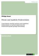 Geuer, Philipp: Private und staatliche Fördersc...