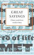 VARIOUS: Great Sayings