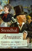eBook:  Armance: Geschichte aus einem Pariser Salon im Jahre 1827 (Vollständige deutsche Ausgabe)