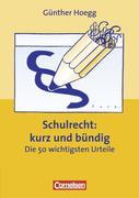 eBook: Schulrecht kurz und bündig