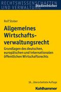 Rolf Stober: Allgemeines Wirtschaftsverwaltungs...