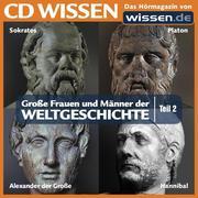 0405619807185 - Sven Knappe;Wolfgang Suttner;Stephanie Mende: CD WISSEN - Große Frauen und Männer der Weltgeschichte: Teil 02 - كتاب