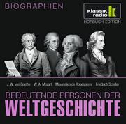 0405619807437 - Anke Susanne Hoffmann;Elisabeth Mende;Stephanie Mende;Wolfgang Suttner: Bedeutende Personen der Weltgeschichte - J. W. von Goethe, W. A. Mozart, Maximilien de Robespierre, Friedrich Schiller - كتاب
