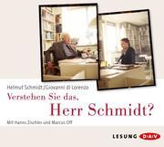 0405619807536 - Giovanni DiLorenzo;Helmut Schmidt: Verstehen Sie das, Herr Schmidt? - كتاب