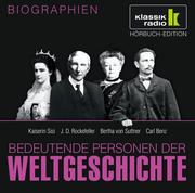 0405619807437 - Anke Susanne Hoffmann;Stephanie Mende;Wolfgang Suttner: Bedeutende Personen der Weltgeschichte - Kaiserin Sisi, J. D. Rockefeller, Bertha von Suttner, Carl Benz - كتاب