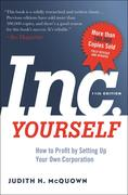 Judith H. McQuown: Inc. Yourself, 11th Edition