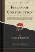 Fitzpatrick F. W. Fireproof Construction