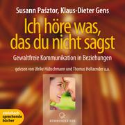 0405619802807 - Susann Pasztor;Klaus-Dieter Gens: Pasztor, S: Ich höre was, das du nicht sagst - Livre