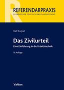 Kurpat, Ralf;Siegburg, Peter: Das Zivilurteil