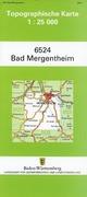 Bad Mergentheim 1 : 25 000