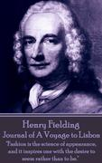 Henry Fielding: Journal of A Voyage to Lisbon