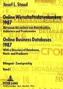 Staud, Josef L.: Online Wirtschaftsdatenbanken ...