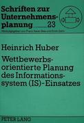 Huber, Heinrich: Wettbewerbsorientierte Planung...