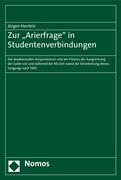 Herrlein, Jürgen: Zur Arierfrage in Studentenve...