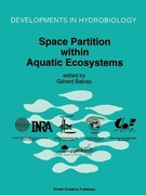 Space Partition within Aquatic Ecosystems