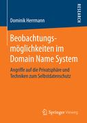 Herrmann, Dominik: Beobachtungsmöglichkeiten im...