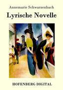 9783843082419 - Annemarie Schwarzenbach: Lyrische Novelle - Book