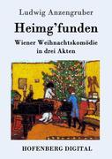 9783843082129 - Ludwig, Anzengruber: Heimg´funden - Book