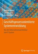 Geschäftsprozessorientierte Systementwicklung