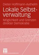 Hoffmann-Axthelm, Dieter: Lokale Selbstverwaltung