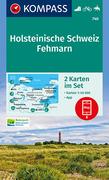 Holsteinische Schweiz, Fehmarn 1:40 000