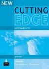 Cunningham,  Sarah;Moor,  Peter: Cutting Edge Intermediate New Editions Workbook with Key