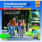 Friedensroute Münster - Osnabrück. Radwanderkar...
