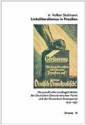 Stalmann, Volker: Linksliberalismus in Preußen....