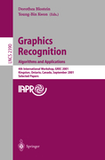 Graphics Recognition. Algorithms and Applications