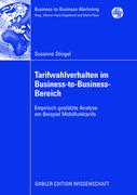 Stingel, Susanne: Tarifwahlverhalten im Busines...