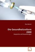 Weckert, Elina: Die Gesundheitsreform 2000