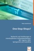Schulte-Derne, Heike: One-Stop-Shops?