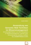 Seibert Joachim: Anwendung von Semantic-Web Tec...