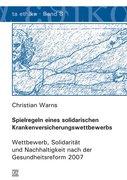 Warns, Christian: Spielregeln eines solidarisch...