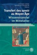 Transfert des savoirs au Moyen Âge Wissenstrans...
