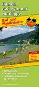 Rad- und Wanderkarte Hameln - Bad Pyrmont - Nor...