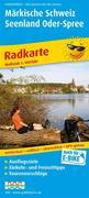 Radwanderkarte Märkische Schweiz Seenland Oder-Spree 1 : 100 000
