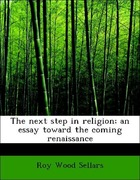 Sellars, Roy Wood: The next step in religion; a...