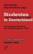 Krebs, Felix;Kronauer, Jörg: Studentenverbindun...